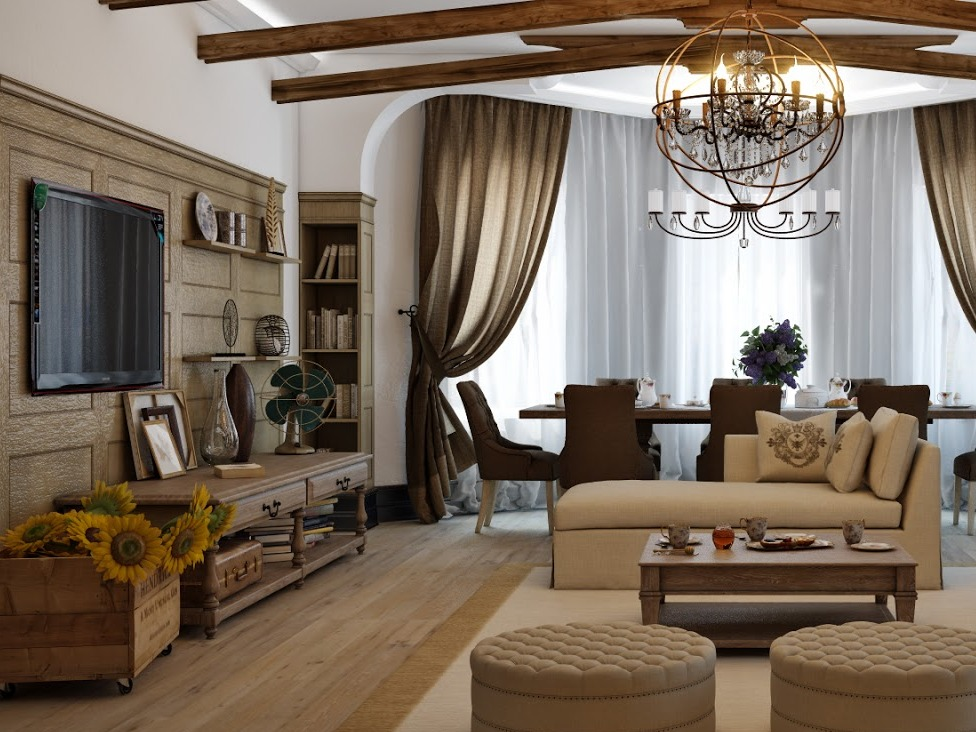 Country style living room - Prestomobili