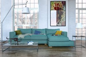 How to clean a jacquard sofa